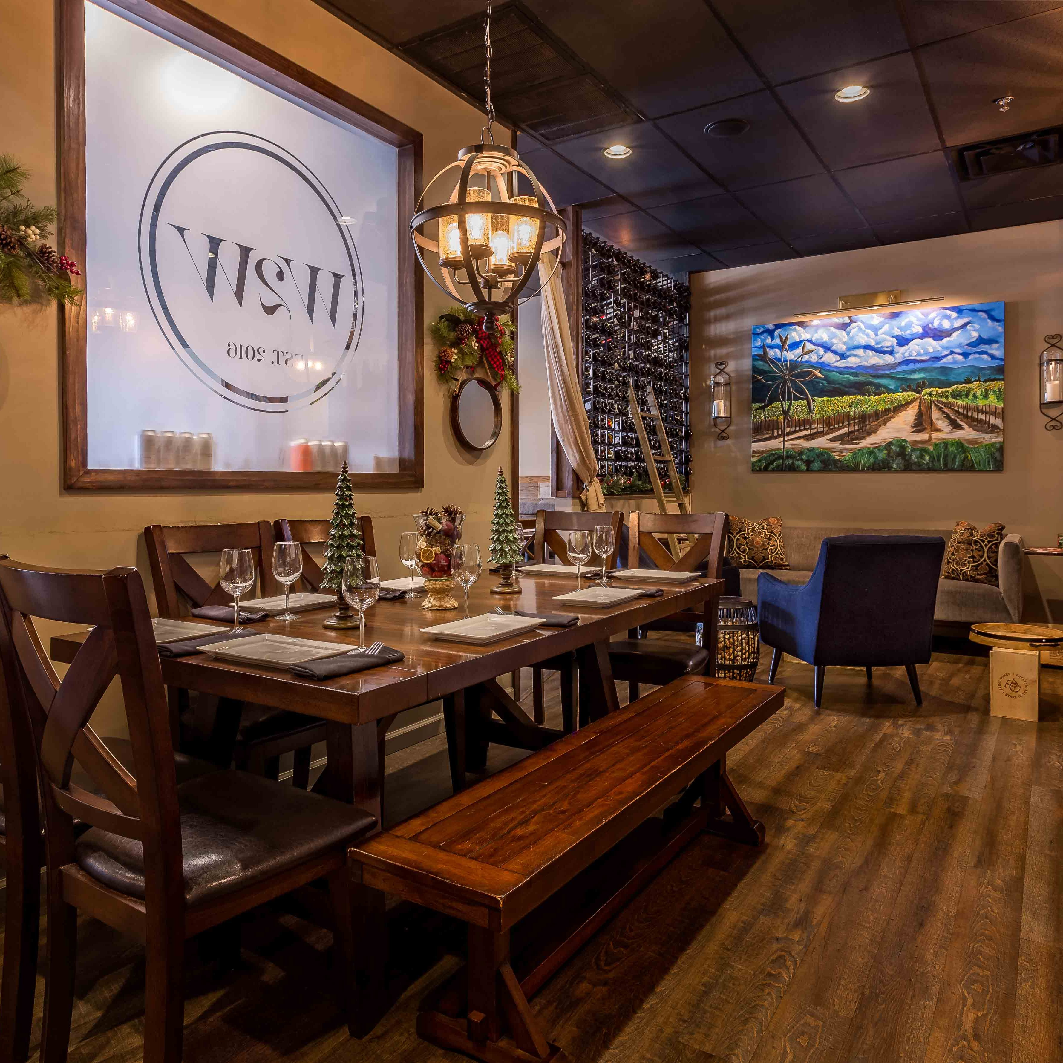 Water into Wine Restaurant Knoxville